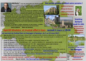 Festival Gers en Gascogne 2017 Verso